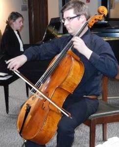 Vincent Bergeron, violoncelliste