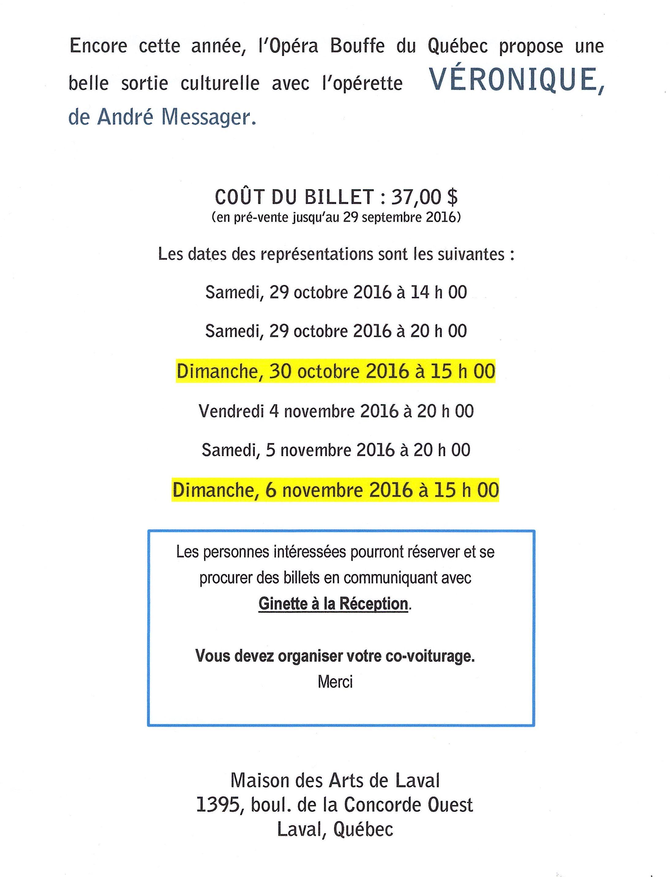 Opérette - Véronique_2016