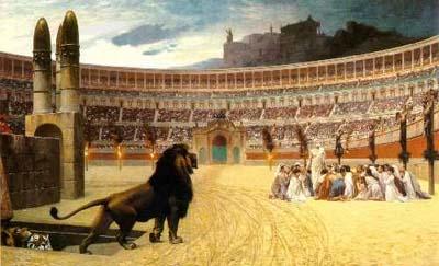 Rome à l'époque des martyrs